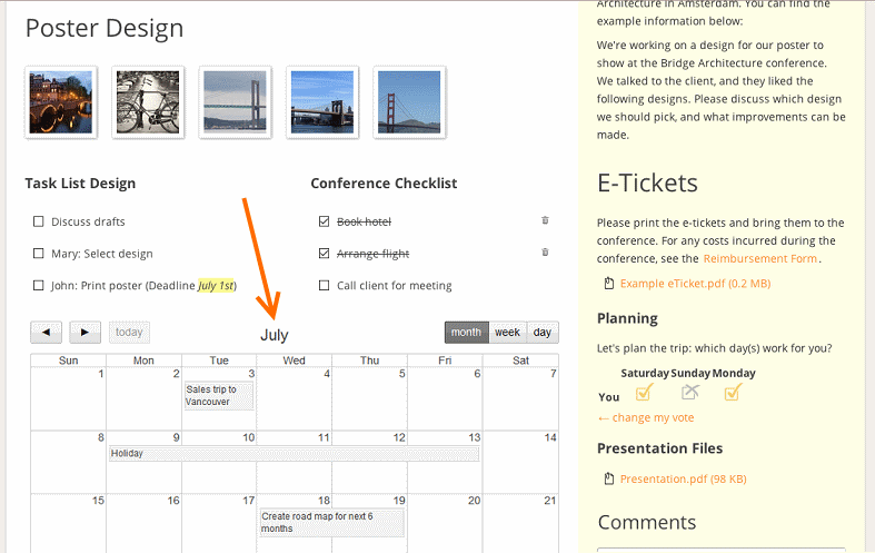 Add custom calendars to your intranet - Papyrs