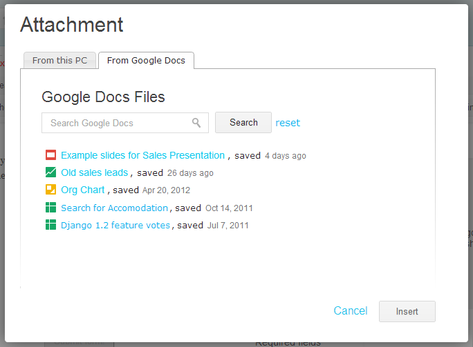 Google Apps Intranet - Papyrs